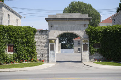 Fort Frontenac Main Gate - Base Photo Sect, CFB Kingston